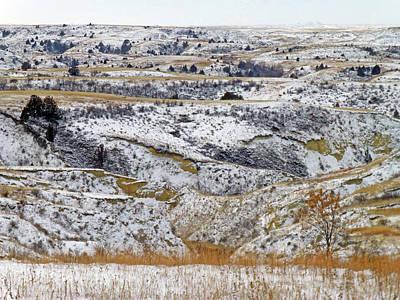 Photograph - Snowy Dakota by Cris Fulton