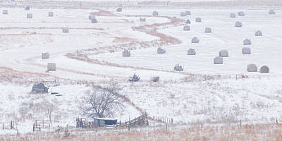 Photograph - Snowy Fields -02 by Rob Graham