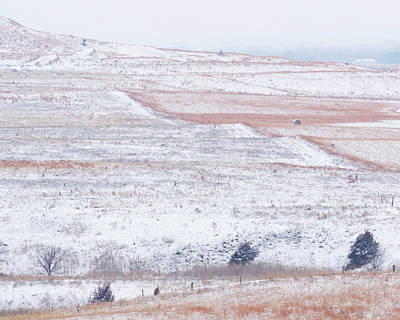 Photograph - Snowy Hill -01 by Rob Graham