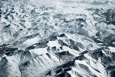 Photograph - Snowy Landscape by Wigwam Press