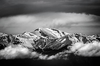 Photograph - Snowy Mountains Summit by Greenp