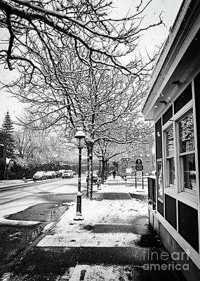Snowy Northampton, Ma, Part 1 Art Print by JMerrickMedia