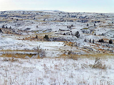 Photograph - Snowy Slope County by Cris Fulton