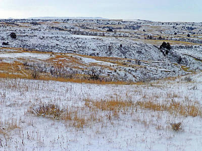 Photograph - Snowy Slope County Territory by Cris Fulton