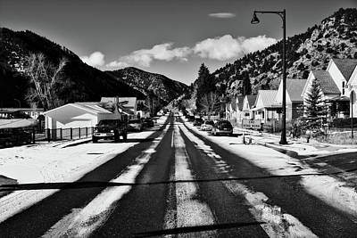 Photograph - Snowy Street by Will Campbell