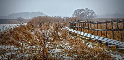 Photograph - Snowy Winter Adventures 1 #i3 by Leif Sohlman