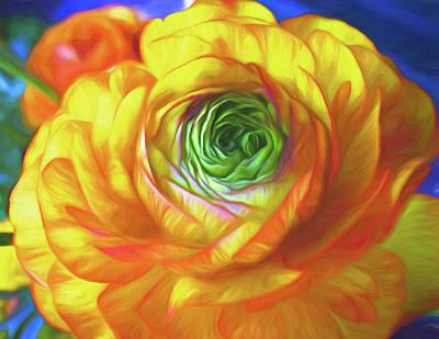 Mixed Media - Soaking In Sunshine 7 by Lynda Lehmann
