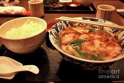 Photograph - Soba Noodle Soup by Carol Groenen