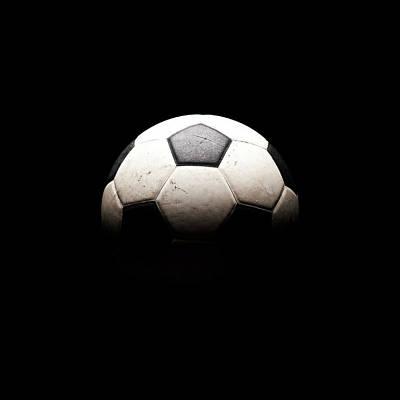 Soccer Wall Art - Photograph - Soccer Ball In Shadows by Thomas Northcut