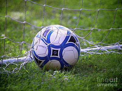 Photograph - Soccer Ball by Mark Miller