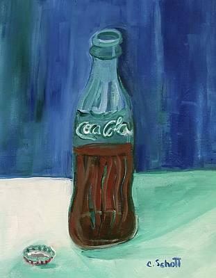 Painting - Sodapop by Christina Schott