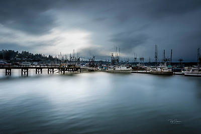 Photograph - Soft Bay Morning by Bill Posner