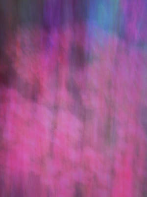 Photograph - Soft Flowing Pastel Abstract Line Background With Pinks, Blues And Purple by Teri Virbickis