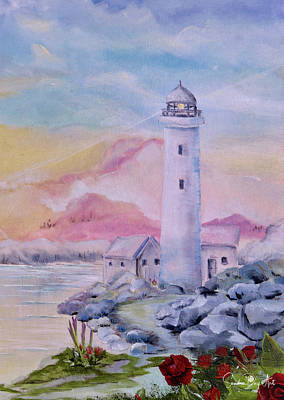Soft Lighthouse Art Print