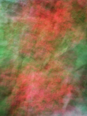 Photograph - Soft Pastel Abstract Shapes Background With Oranges And Greens by Teri Virbickis