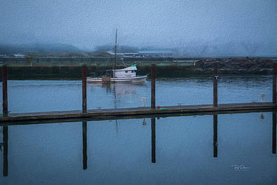 Photograph - Soft Textured Bay by Bill Posner