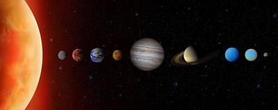 Photograph - Solar System by Narvikk