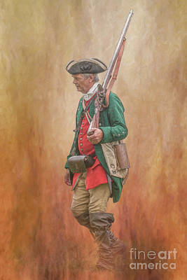 Digital Art - Soldiers At War by Randy Steele