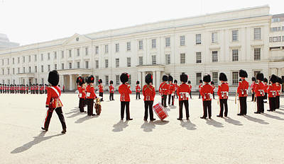 Photograph - Soldiers From The Foot Guards Of The by Oli Scarff