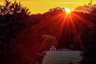 Photograph - Solemn Sunset by Jack Peterson
