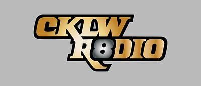 Digital Art - Solid Gold Cklw Mid-70s Logo by Big8Radio