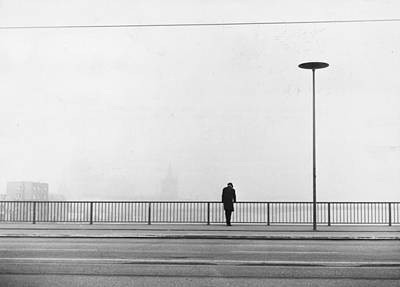 Photograph - Solitary Man by Keystone