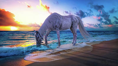 Surrealism Digital Art - Solitude  by Betsy Knapp