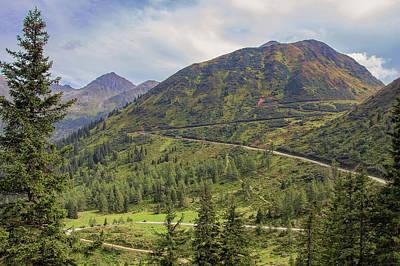 Stellar Interstellar - Solk Pass in Austria Alps  by Jan Fidler