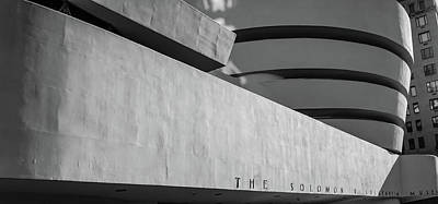 Photograph - Solomon R Guggenheim Museum by Michael Hope