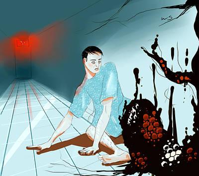 Digital Art - Somatoparaphrenia by Willow Schafer