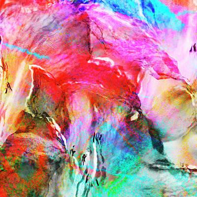 Digital Art - Somebody's Smiling - Custom Version 2 - Abstract Art by Jaison Cianelli
