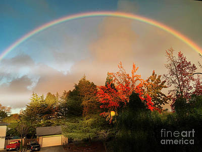Photograph - Somewhere Over The Rainbow by Leslie Hunziker