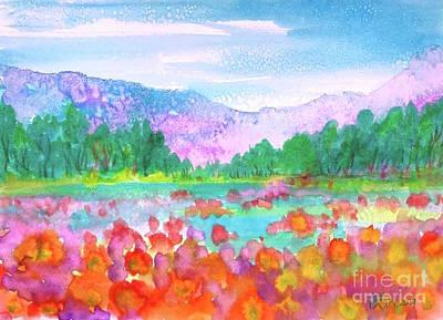 Painting - Somewhere Pretty by Wonju Hulse