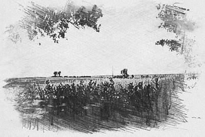 Photograph - Somme Sketch by JLowPhotos