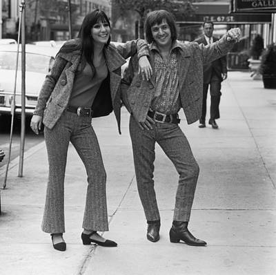 Fashion Photograph - Sonny And Cher by Jack Robinson