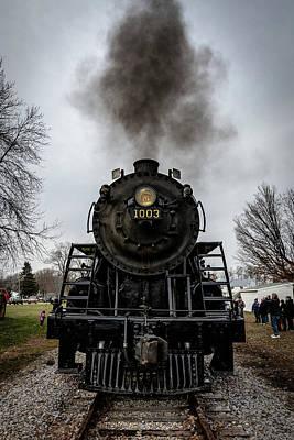 Photograph - Soo 1003 In Plymouth by Randy Scherkenbach