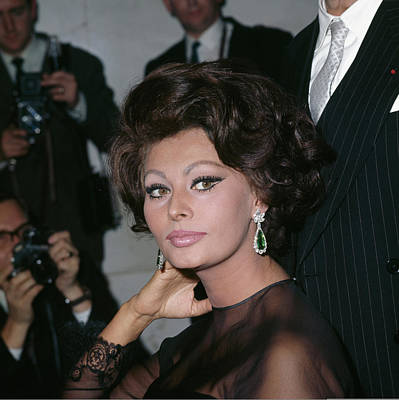 Photograph - Sophia Loren by George Freston