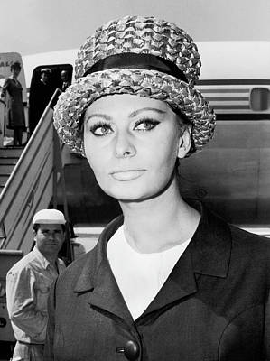 Photograph - Sophia Loren In Rome 1964 by Keystone-france