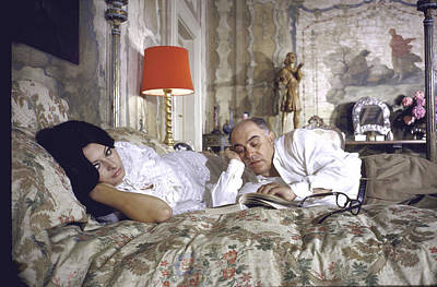Photograph - Sophia Lorencarlo Ponti by Alfred Eisenstaedt