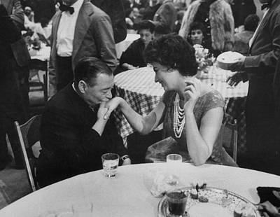 Photograph - Sophia Lorenpeter Lorre by Ralph Crane