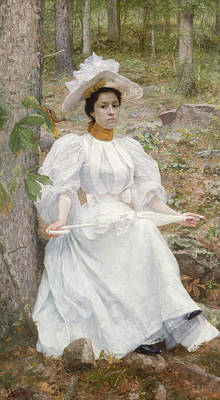 Painting - Sophie Hunter Colston by William Robinson Leigh