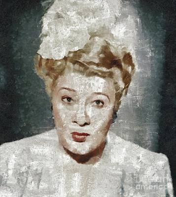 Abstract Airplane Art Rights Managed Images - Sophie Tucker, Music Legend Royalty-Free Image by Esoterica Art Agency