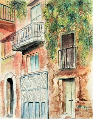 Painting - Sorrento Charm by Laurie Morgan