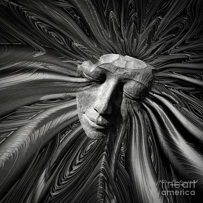 Mixed Media - Sorrow by Kira Bodensted
