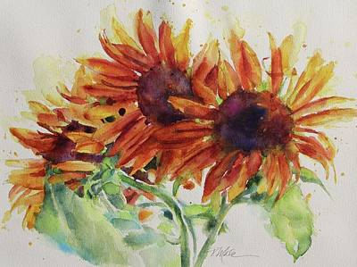 Painting - Soulflowers by Tracy Male