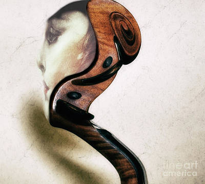 Sound Thoughts  Art Print by Steven Digman