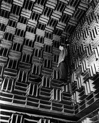 Photograph - Soundproof Room by Keystone