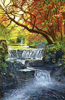 Painting - Sounds Of The Forest by David Lloyd Glover