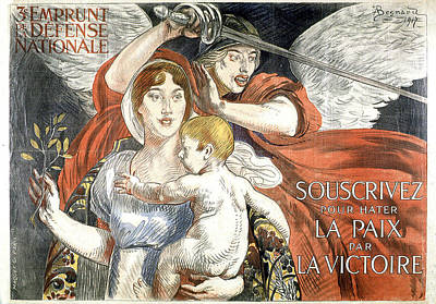 Painting - Souscrivez 1917 Vintage French Advertising  by Vintage French Advertising