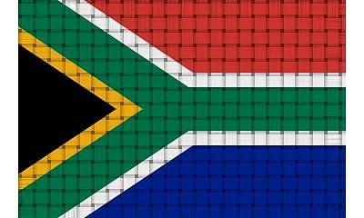 Route 66 - South Africa Flag by Jaime Enriquez